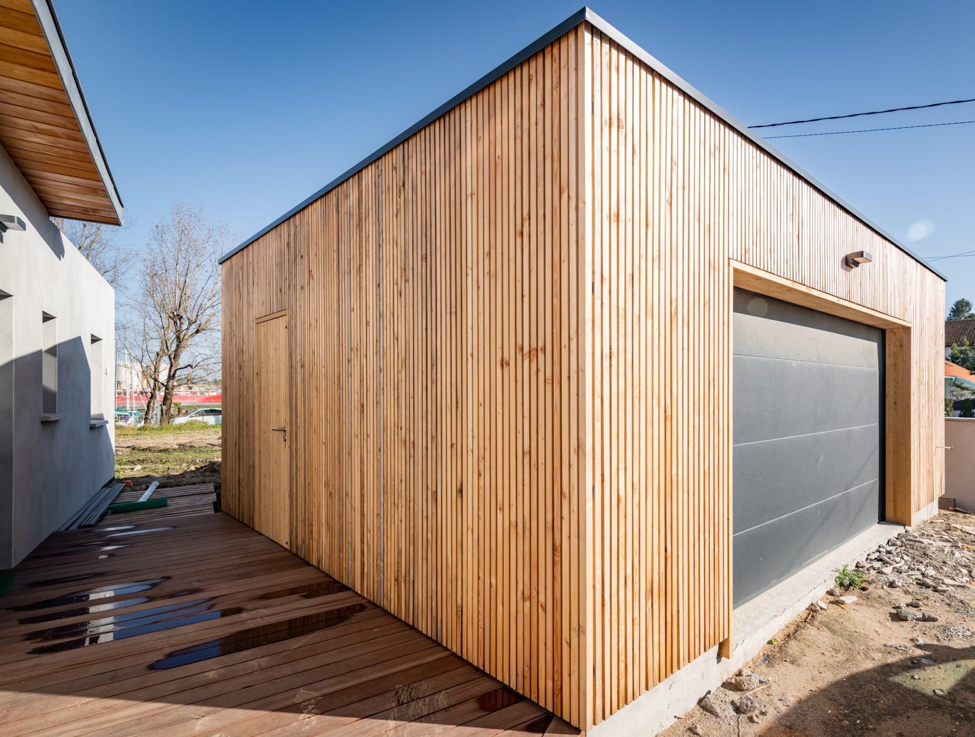 Pool House bois