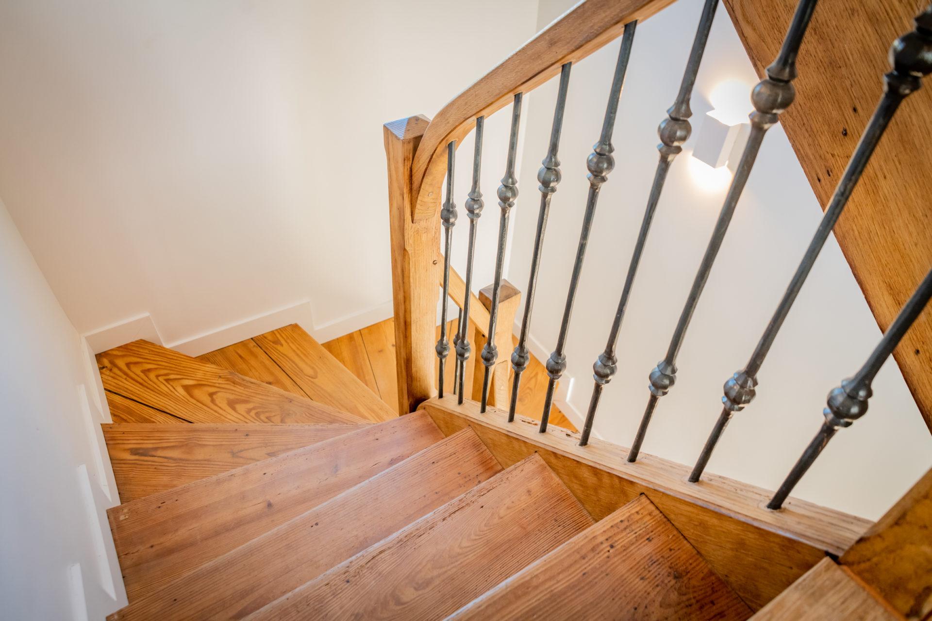 Rénovation d'un escalier des années 60