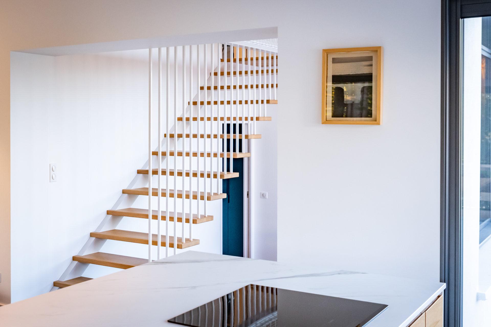 Escalier et mezzanine