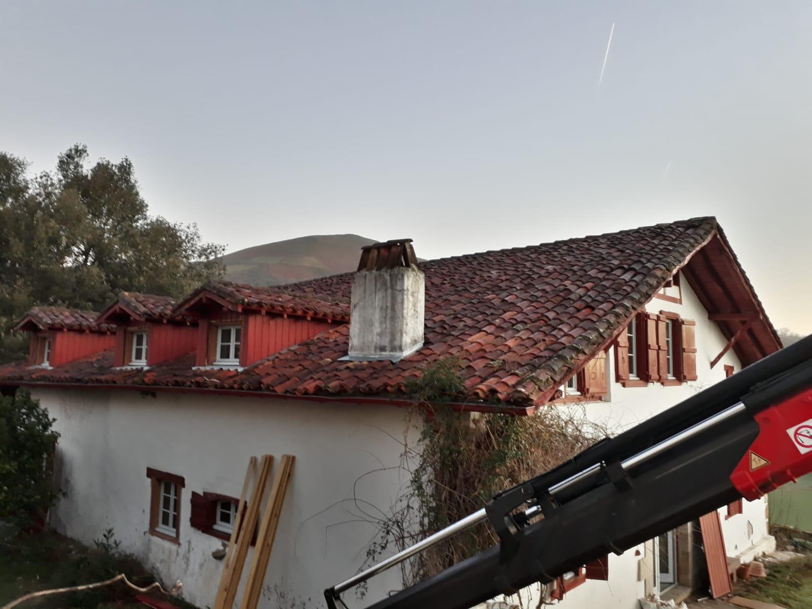 Rénovation toiture, isolation et zinguerie
